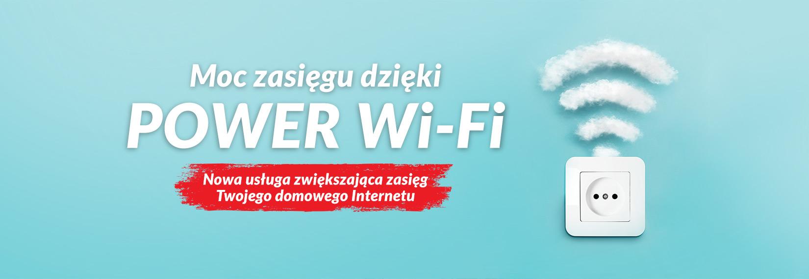 Power Wi-Fi - gniazdko